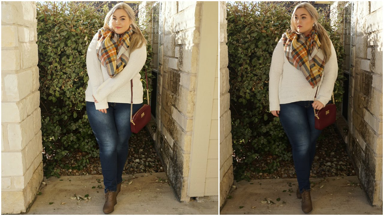 In the Pumpkin Patch Plus-Size OOTD