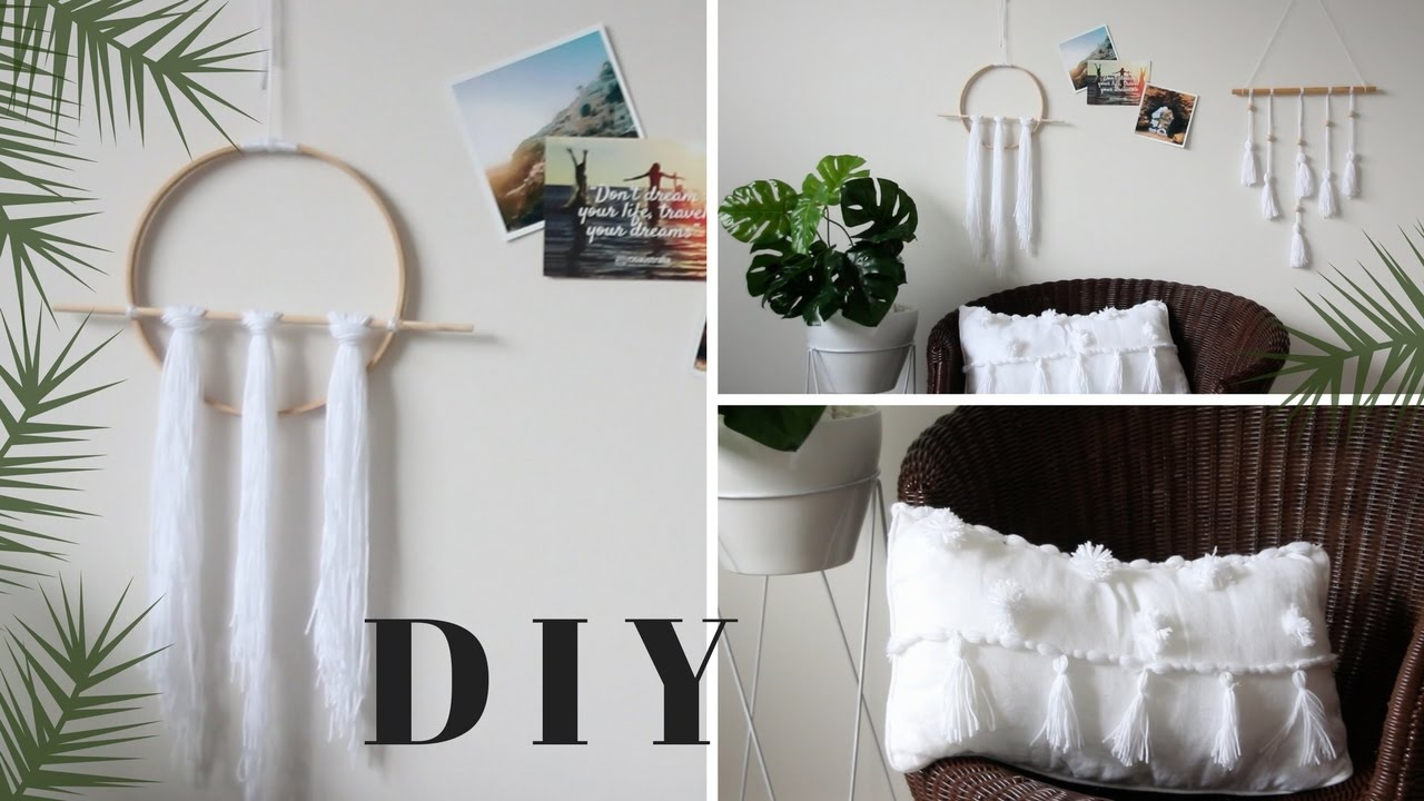 Diy boho minimalist room decor tumblr pinterest inspired for Minimalist wall decor ideas