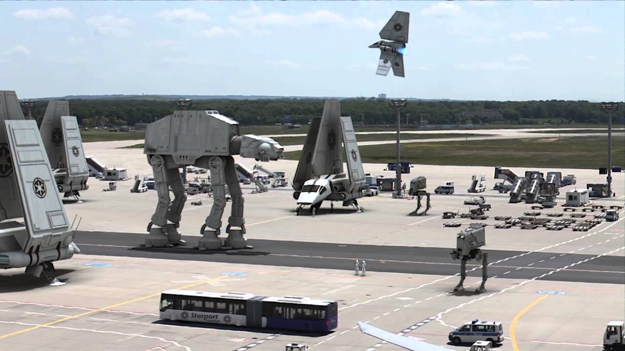Leaked Star Wars Episode VII Filmset Footage!