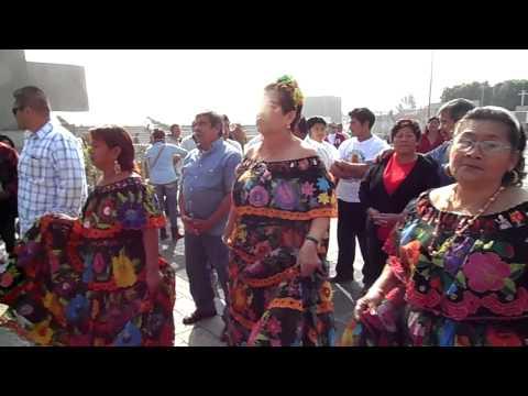 Visitando virgen de Guadalupe Mexico DF