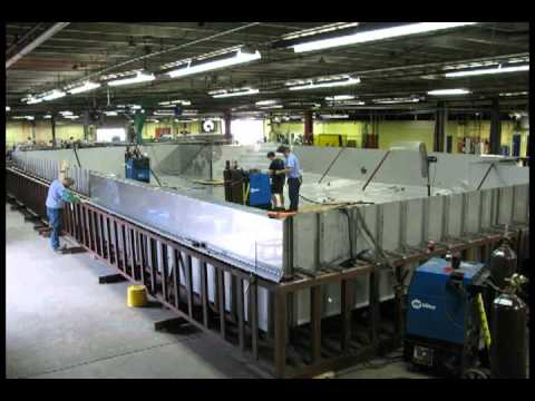 Bradford Products Stainless Steel Pool Manufacturing Process Freeze ...