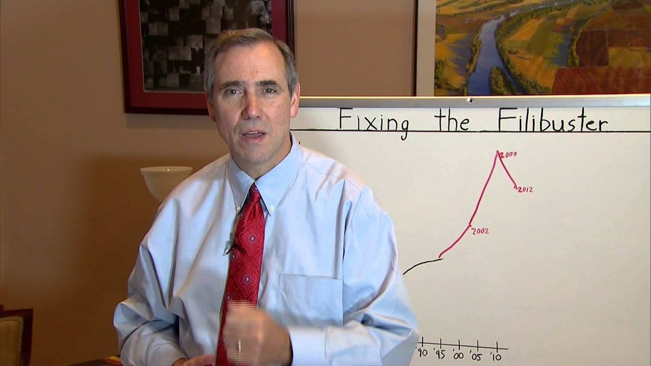 Time For Filibuster Reform >> Merkley White Board: It's time to Reform the Senate with a Talking Filibuster - YouTube
