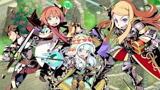Etrian Odyssey and Mystery Dungeon - Announcement Trailer