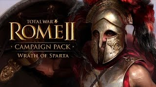 Total War: Rome 2 - Wrath of Sparta - Announcement and Info!