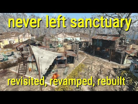 Never Left Sanctuary - Revisited, Revamped, and Rebuilt