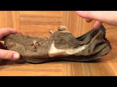 ShoeZeum Bill Bowerman Handmade Sample Prototype Nike Waffle Up Close