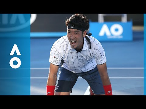 Yuichi Sugita v Jack Sock match highlights (1R) | Australian Open 2018