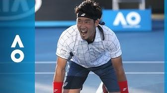 Yuichi Sugita v Jack Sock match highlights (1R) | Australian Open 2018