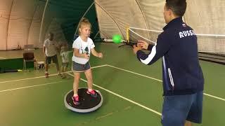 Видео урок по теннису