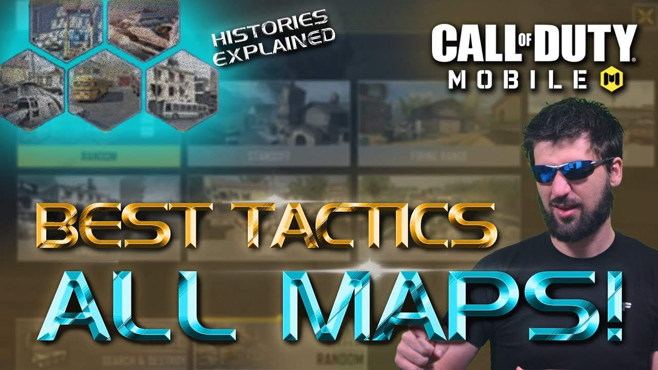 The Best Tactics for ALL MAPS in Call of Duty Mobile. Pro Tips and Tricks for CODM