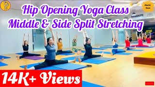 50 Minutes Hip Opening Yoga | Yoga Exercise For Middle and Side Split | Hip Opening Yoga Sequence
