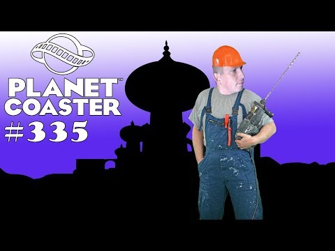 Disney Aladdin - Sultans Palast modifizieren (WoD) [Ride Timelapse] 🎢 PLANET COASTER #335