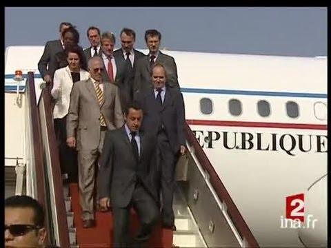 Visite de Nicolas Sarkozy en Libye