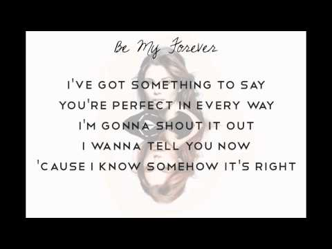 Be My Forever  Christina Perri feat Ed Sheeran, lyrics
