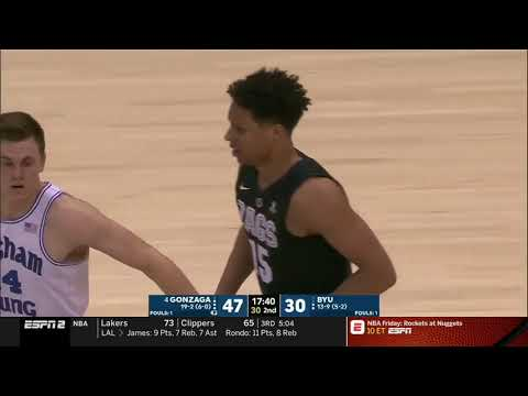 Brandon Clarke Vs BYU 23 PTS                        1.31.19