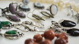 Мои украшения из натуральных камней и не только (ЧАСТЬ 1)(Мои украшения из натуральных камней, серебра и бижутерия. Всем привет, друзья) Сегодня покажу вам свои женск..., 2016-07-08T08:02:31.000Z)