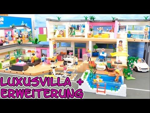 Playmobil riesige Luxusvilla komplett mit Erweiterung seratus1 5574 ...