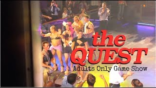 """The Quest"" on Royal Caribbean (ADULTS ONLY game show!)"