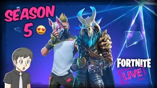 FORTNITE ITA - And Let's take it season pass! SEASON 5, All NEW! / Live Webcam