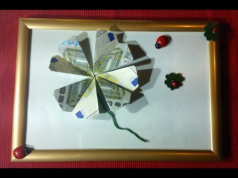 geldscheine falten weihnachten stern aus geld geldge doovi. Black Bedroom Furniture Sets. Home Design Ideas