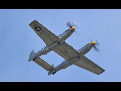 Video: XP-82 Twin Mustang takes flight at Oshkosh
