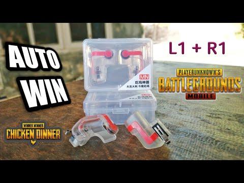 MN Fire Button L1 R1 PUBG GEN 02 ROS Trigger Shooter Snap Controller thumbnail
