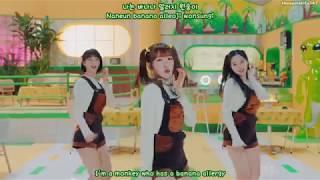 Oh My Girl Banhana - Banana Allergy Monkey (Hangul, Romanization, Eng Sub)