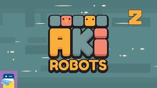 #AkiRobots: iOS / Android Gameplay Walkthrough Part 2 (by FlatPonies)