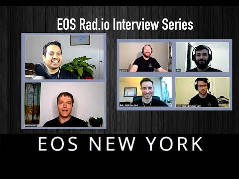 EOS New York Interview  - EOS Go Live - Episode 7 on EOSRad.io #blockchain #crypto #eos