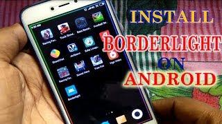 borderlight live wallpaper for android