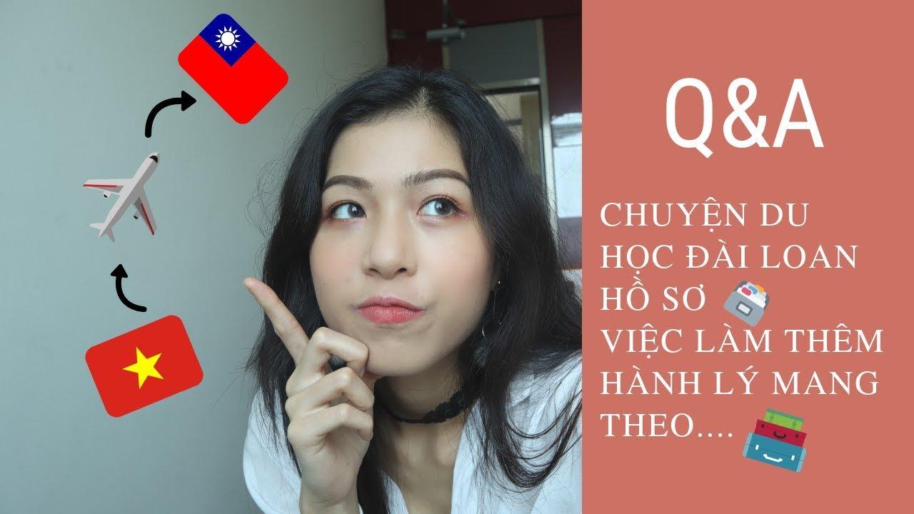 #14 [Q&A] hồ sơ, visa du học Đài Loan, người Việt bị kì thị? Trai Đài đẹp trai? | KAYLEE