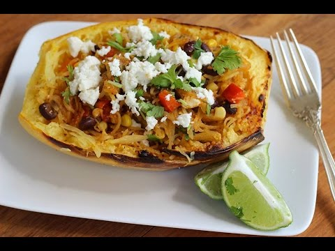 Dinner Recipe: Southwestern Style Spaghetti Squash Bowl by Everyday Gourmet with Blakely
