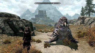 The Elder Scrolls V: Skyrim. Мертвый трэлл. Большой Клык. Прохождение от SAFa