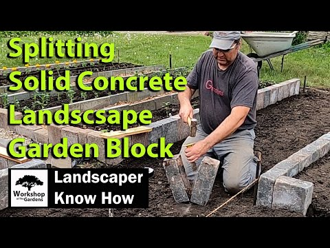 three-simple-steps-for-splitting-solid-concrete-landscape-garden-block