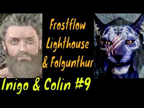 Frostflow Lighthouse & Folgunthur. Inigo & Colin part 9. Elder Scrolls V: Skyrim