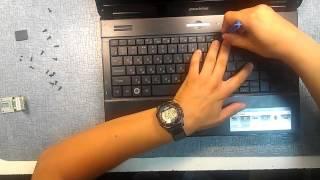Как разобрать ноутбук Emachines E725 (Emachines E725 disassembly)(В этом видео наглядно показан процесс разборки ноутбука Emachines E725. Дополнительные материалы: Видео о том,..., 2013-07-03T20:52:33.000Z)