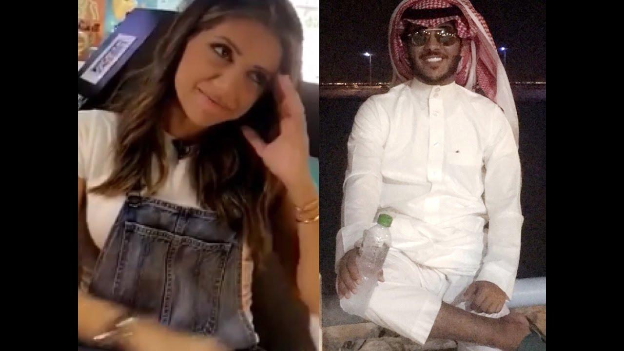 فيحان فصل على بنت لبنانية شوفو ردت فعلها طقطق عليهم