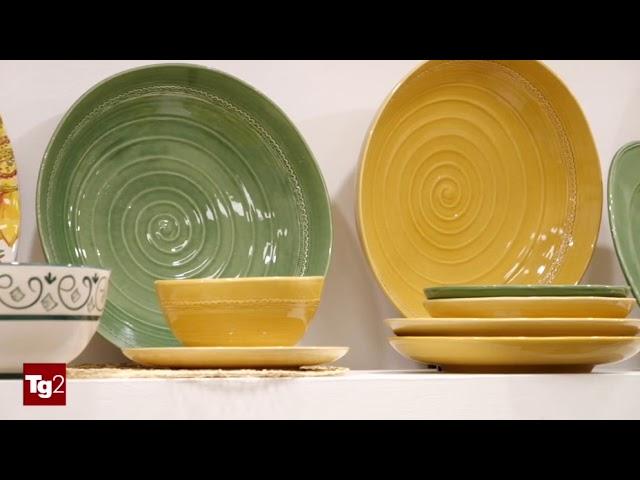 Ceramiche NOI servizio TG2 del 19 novembre 2019