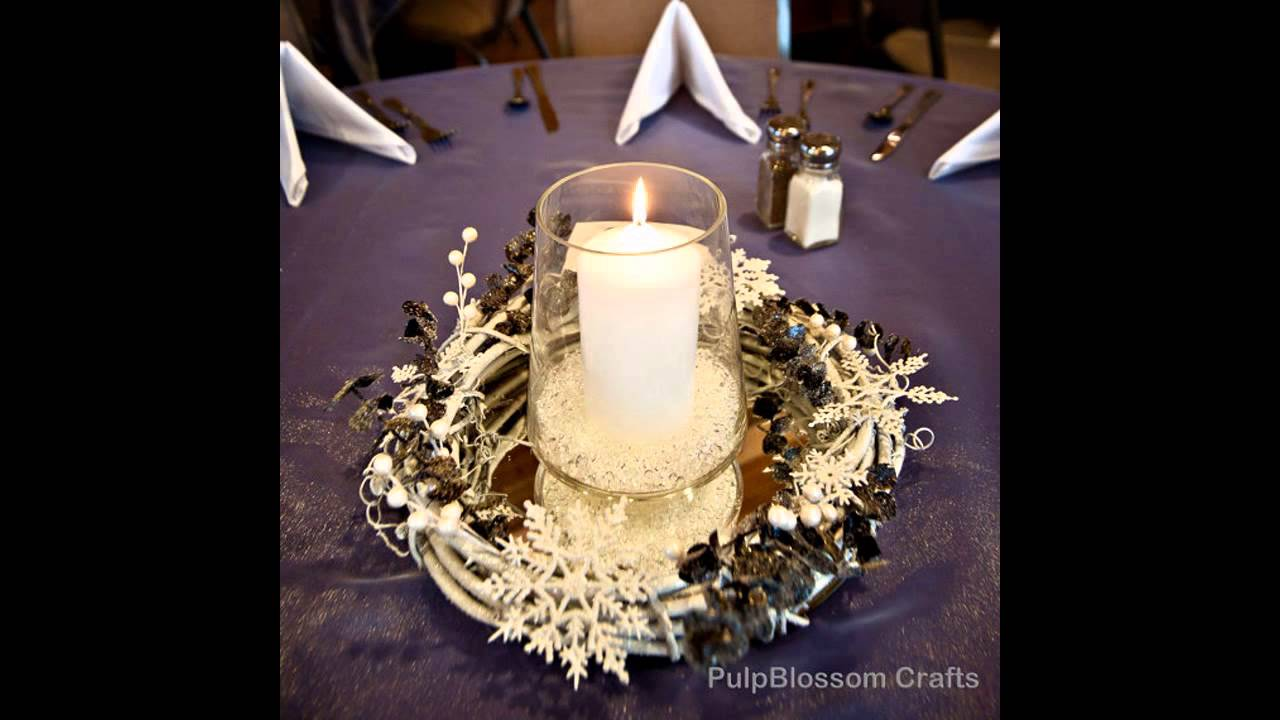 Cool Winter Table Decorations