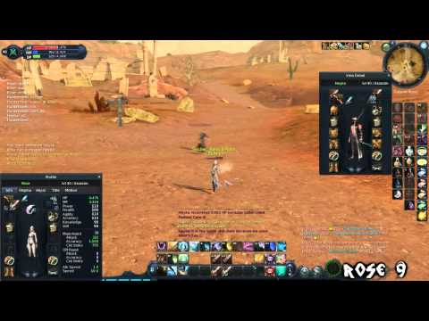Rose pvp video 9 -Twink assassin lvl 40