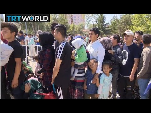 Refugee Crisis: Refugees seek asylum for a safer life in Tur