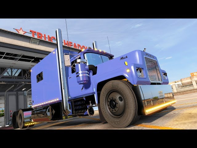 [LIVE🔴] Building THE BIGGEST TRUCK MOD Mack R Legacy ON EARTH | American Truck Simulator Gameplay