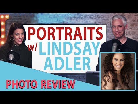Portrait photo reviews with LINDSAY ADLER! (TC LIVE) thumbnail