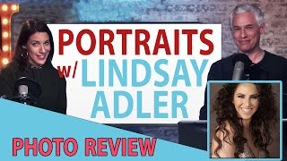 Portrait photo reviews with LINDSAY ADLER! (TC LIVE)