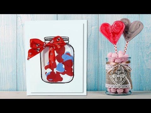 Видео: ✂ Оригинальные подарки своими руками   10 простых идей на День святого Валентина из бумаги и картона