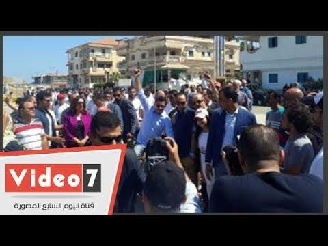 وزير الرياضة يشارك فى ماراثون ركوب الدراجات برأس البر  - 17:54-2018 / 9 / 17