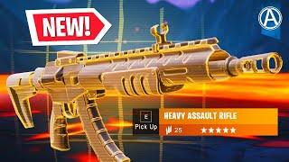 "NEW ""HEAVY ASSAULT RIFLE"" Gameplay! (Fortnite Battle Royale LIVE)"