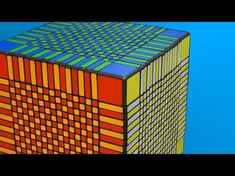 Un cubo de Rubik con 66,9 quinquaseptuagintacentilliardos de posiciones posibles