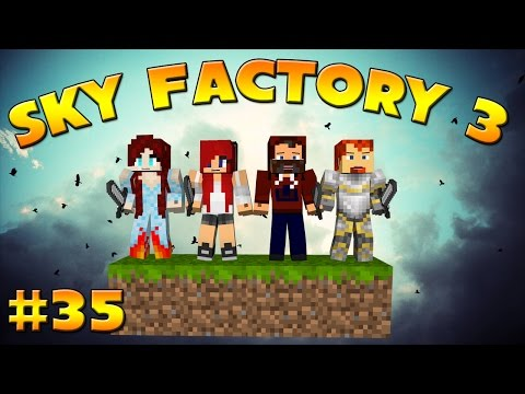 """SOLAR PANELS ARE EASY!"" SKY FACTORY 3 /w HEATHER,SNOOP & CHRISTA #35"
