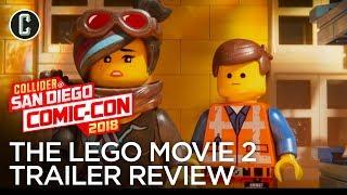 The LEGO Movie 2 Trailer Review - SDCC 2018